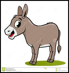 cartoon-donkey-white-background-45548039