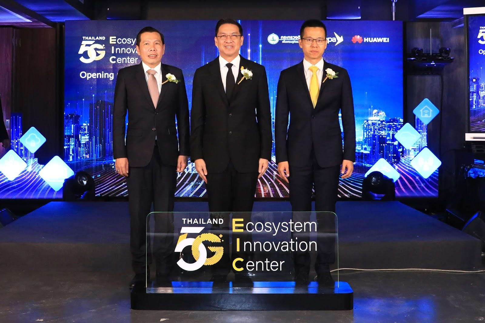 กระทรวงดิจิทัลฯ โดย DEPA ผนึกกำลัง Huawei เปิดศูนย์ Thailand 5G Ecosystem Innovation Center (5G EIC) เร่งพลิกโฉมทุกอุตสาหกรรมสู่ดิจิทัล