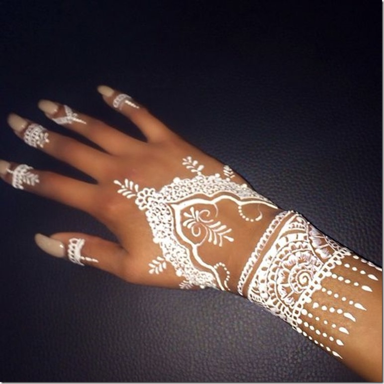 introduction of white henna