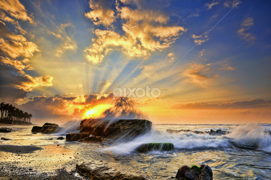 Chasing the Sun by Hendri Suhandi - Landscapes Waterscapes