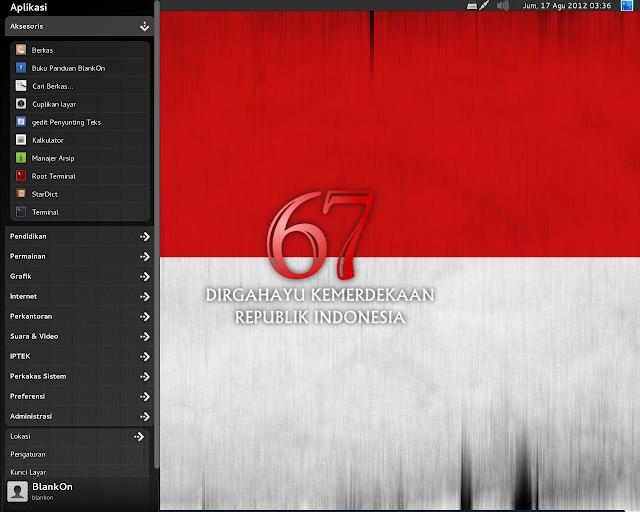 BlankOn Linux Rote