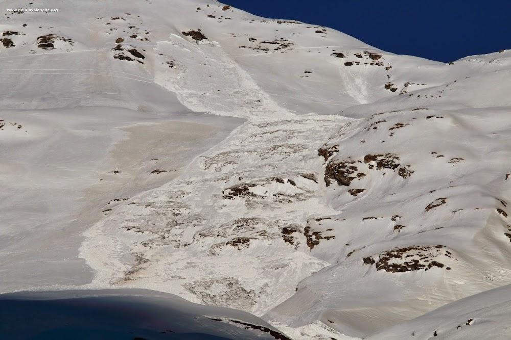 Avalanche Haute Maurienne, secteur Bessans, RD 902 - Ruisseau d'Andagne - Photo 1
