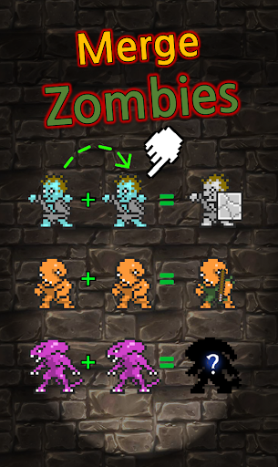 Grow Zombie VIP - Merge Zombies - screenshot