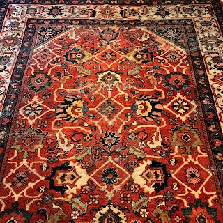 Wool Floral Carpet