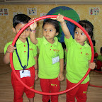Circle Day and Making Circle Face Activity (Nursery) 8-4-2016