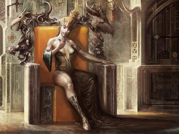 Speach Of Queen Of Deads, Demonesses