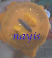 frasco de vidrio decorado  con masa flexible