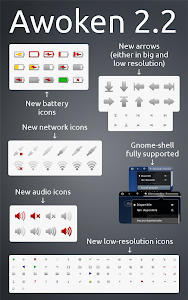 Awoken icon theme 2.2