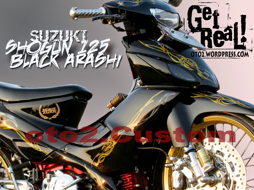 Suzuki Shogun 125 Rr Modifikasi