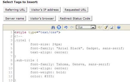 Tuliskan kode html Anda pada editor