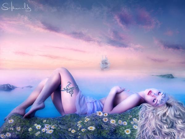 Angel Lady, Magic Beauties 4