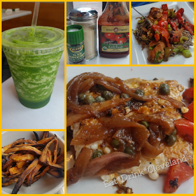 playhouse square restaurants, vegetarian, smoothies, cleveland