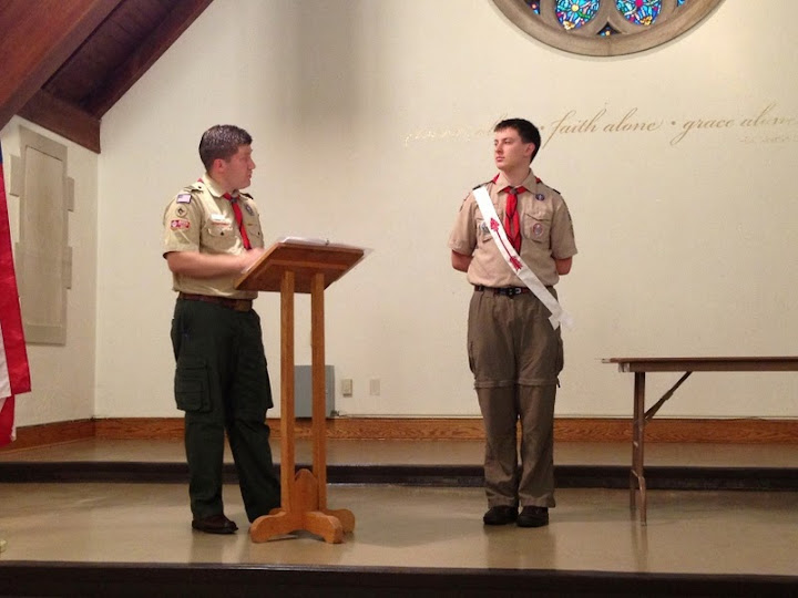Eagle Scout Court of Honor
