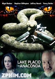 Thị Trấn Kinh Hoàng - Lake Placid vs. Anaconda (2015) Poster