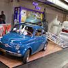 Eindrücke Happy View Day Techno Classica 2015. Fiat 500 Bausatz XXL, Da steckt viel Arbeit drin.