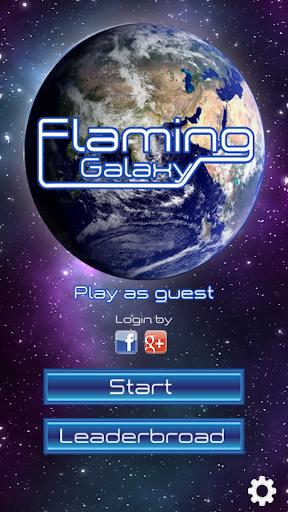 Flaming Galaxy
