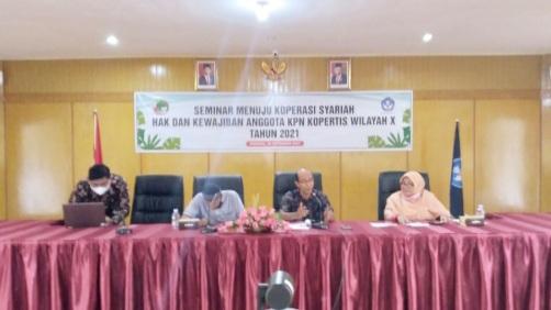 KPN Kopertis Wilayah X Siap Menuju Koperasi Syariah