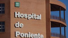 El herido ha sido trasladado al hospital de Poniente