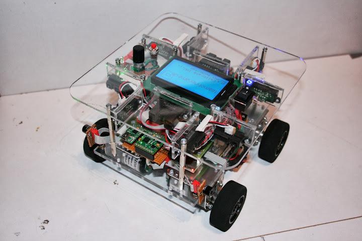 Roboter Queransicht