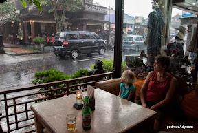 Tropikalna ulewa w Ubud