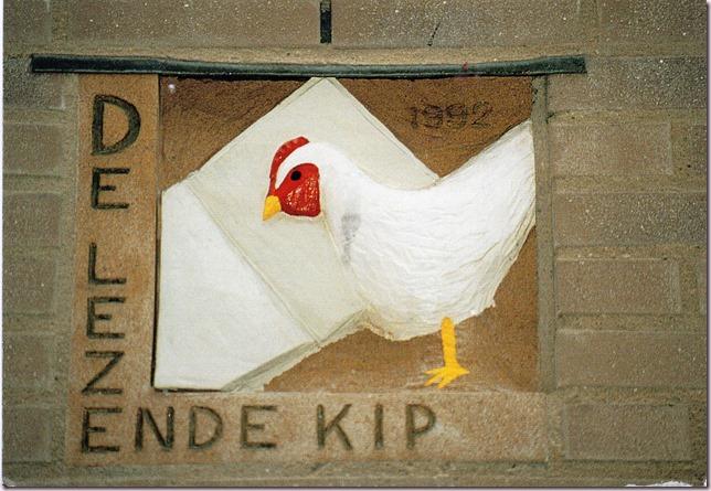 De lezende kip