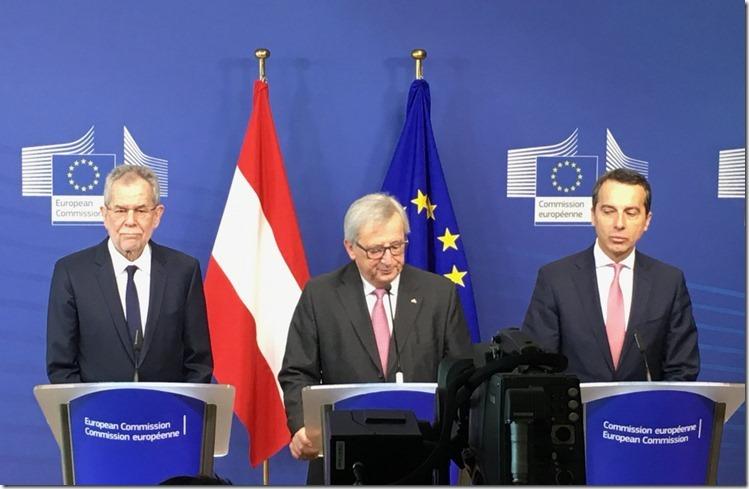 Die drei Affen in Brüssel