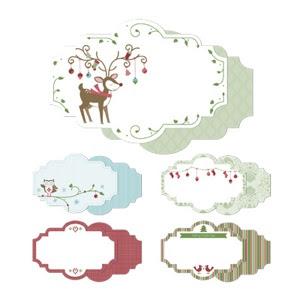 Snow Festival Designer Printed Tags - http://jennsavstamps.stampinup.net