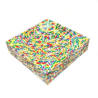 By Robyn Blair  Twisty Pops Candy Dish