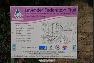 Eden Valley Loop Trail Sign 5