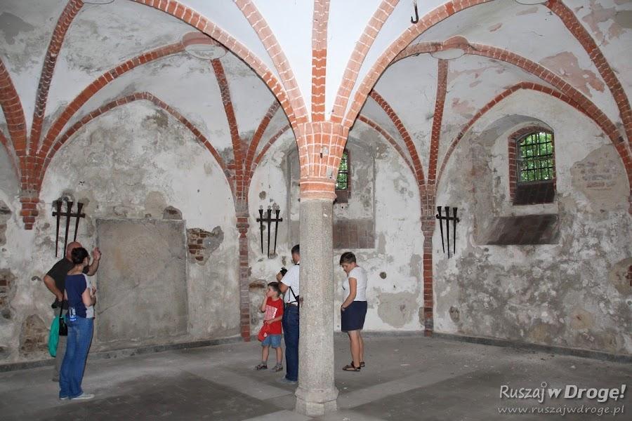 Wnętrza Kościoła pw św. Maksymiliana Kolbe - krypty