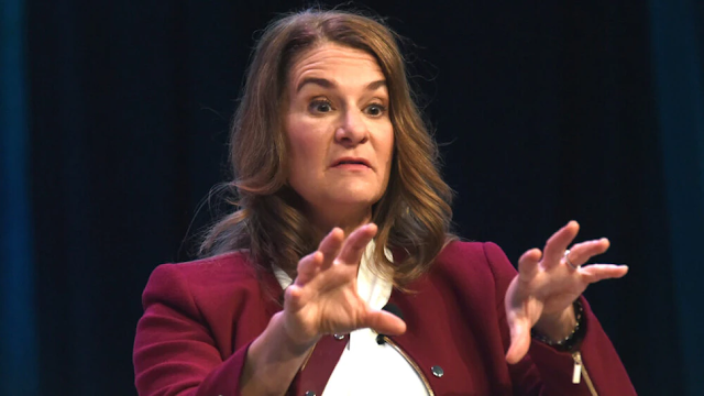 Melinda Gates 'Incredibly Disappointed' Trump Put Americans First For Vaccines, Gushes Over Biden