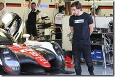 Fernando Alonso con la Toyota nel WEC