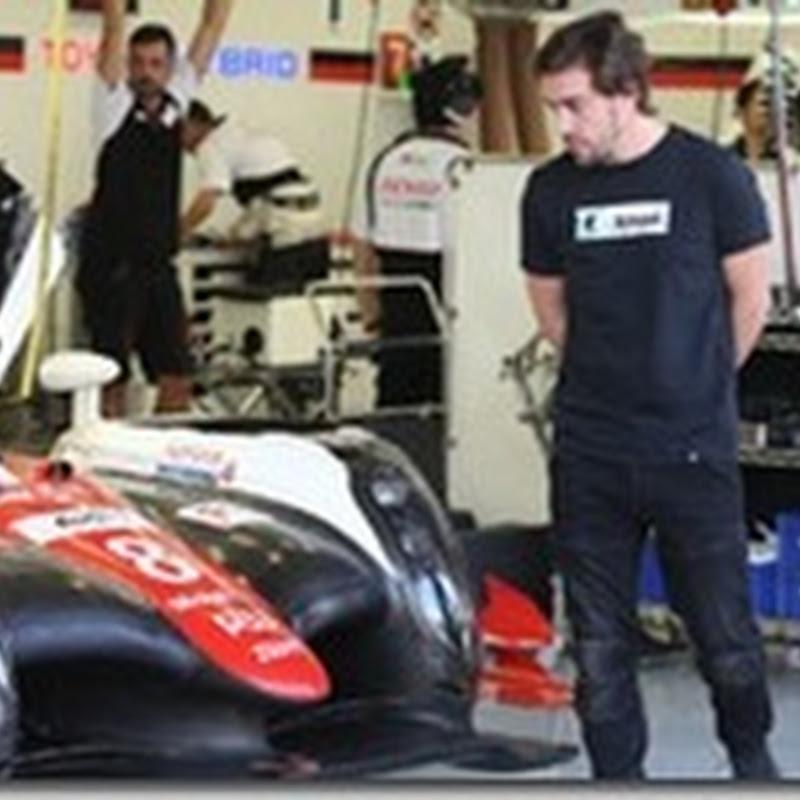 Alonso con Toyota alla 24 Ore di Le Mans