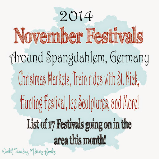 November Festivals Around Spangdahlem | World Traveling Military Family