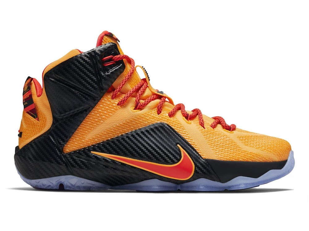d3a99d00b29 ... Official Look at Upcoming 8220CLE8221 Carbon Fiber Nike LeBron 12 ...