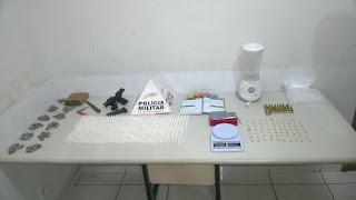 POLICIAMG - Materiais apreendidos