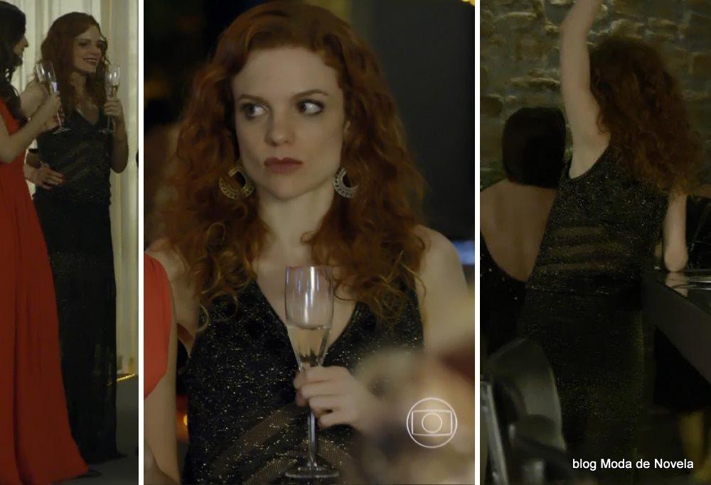 moda da novela Em Família - looks da Vanessa dia 4 de julho