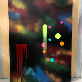 Large Scale Contemporary Abstract #1