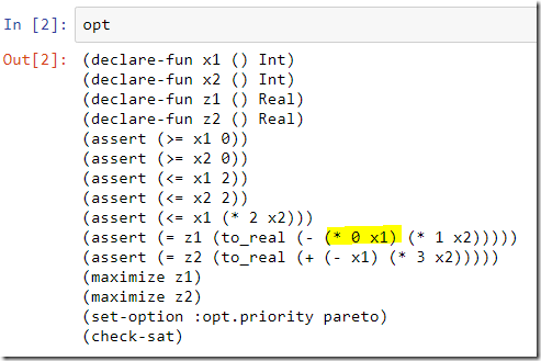 Yet Another Math Programming Consultant: Multi-objective