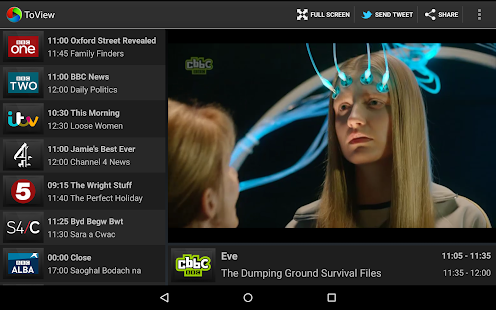 ToView Live TV- screenshot thumbnail