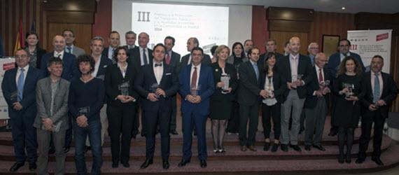 III Premios a la Promoción del Transporte Público y la Movilidad Sostenible del CRTM