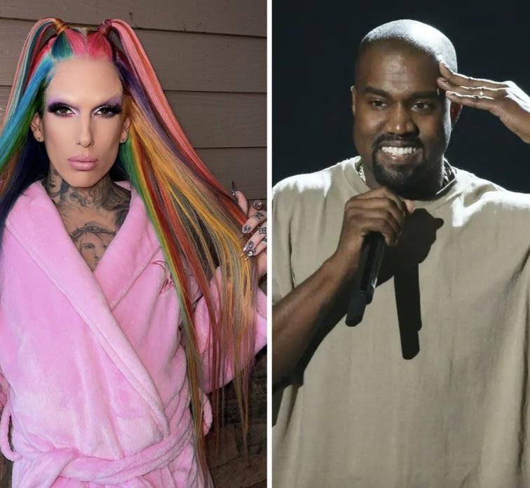 Beauty mogul, Jeffrey Star responds to rumours Kanye West cheated on Kim Kardashian with him