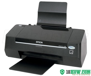 How to Reset Epson S20 laser printer – Reset flashing lights error