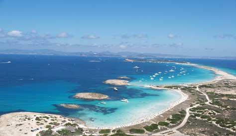 Formentera, playas