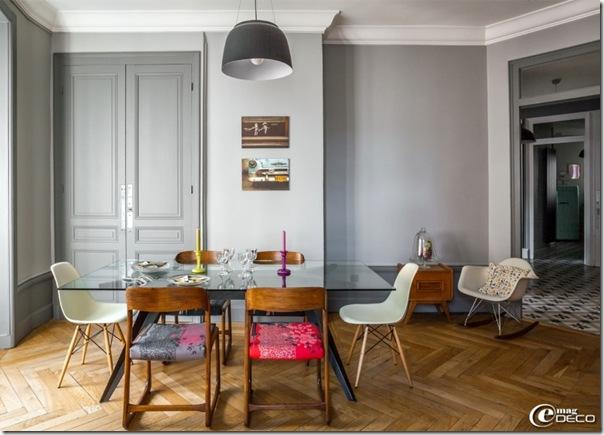 Appartamento neo borghese in francia case e interni for Case stile americano interni