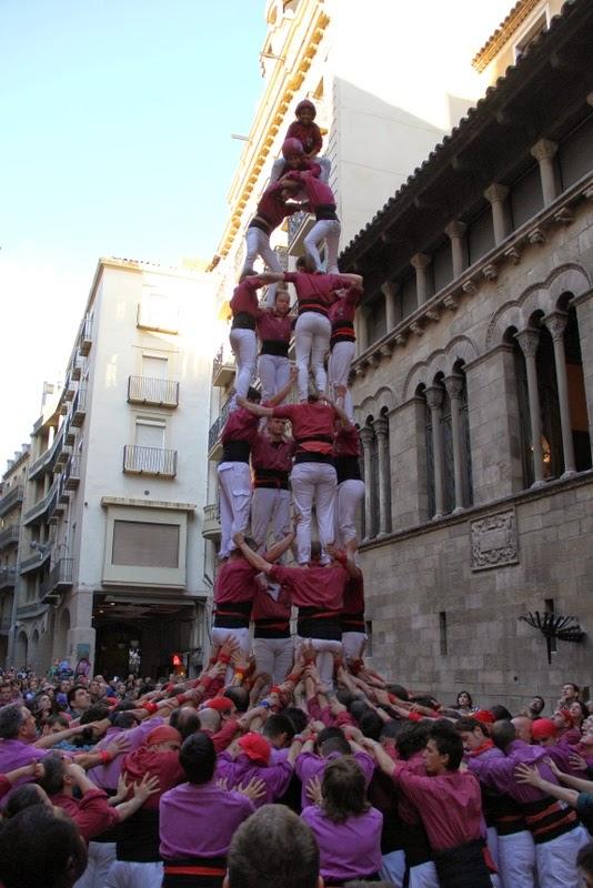 19è Aniversari Castellers de Lleida. Paeria . 5-04-14 - IMG_9529.JPG
