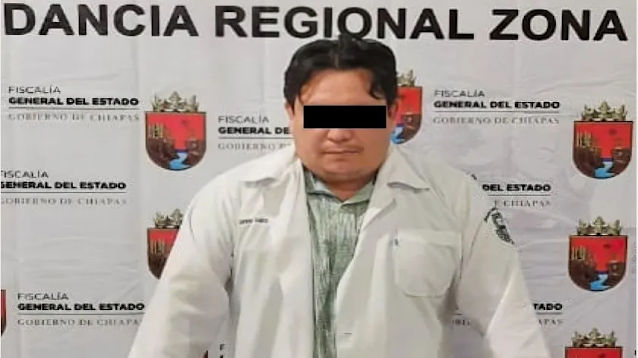 Detienen a un hombre en Chiapas acusado de poner vacunas falsas contra Covid-19