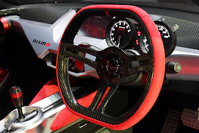 Nissan IDx Nismo Steering Wheel