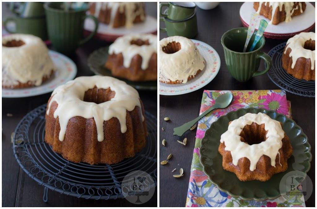 Mini Bundt Cakes de vainilla y cardamomo