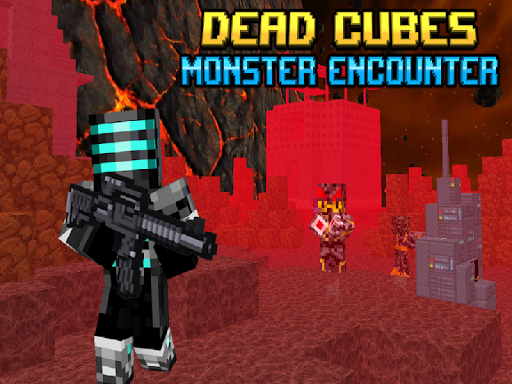 Dead Cubes Monster Encounter